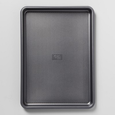 Aluminized Steel Non-Stick Jumbo Cookie Sheet 12 x17  Silver - Made By Design™