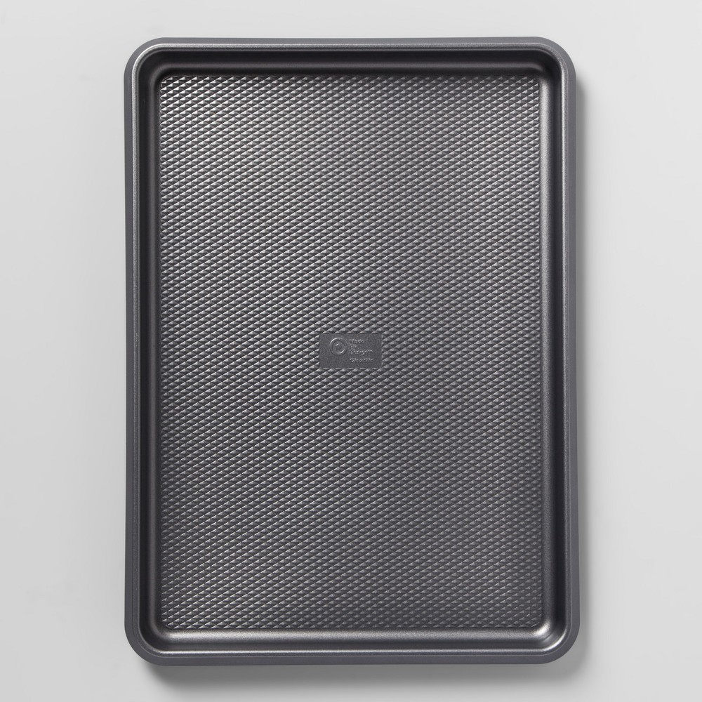 "Image of ""12"""" x 17"""" Non-Stick Jumbo Cookie Sheet Aluminized Steel - Made By Design , Size: 12""""x17"""", Gray"""
