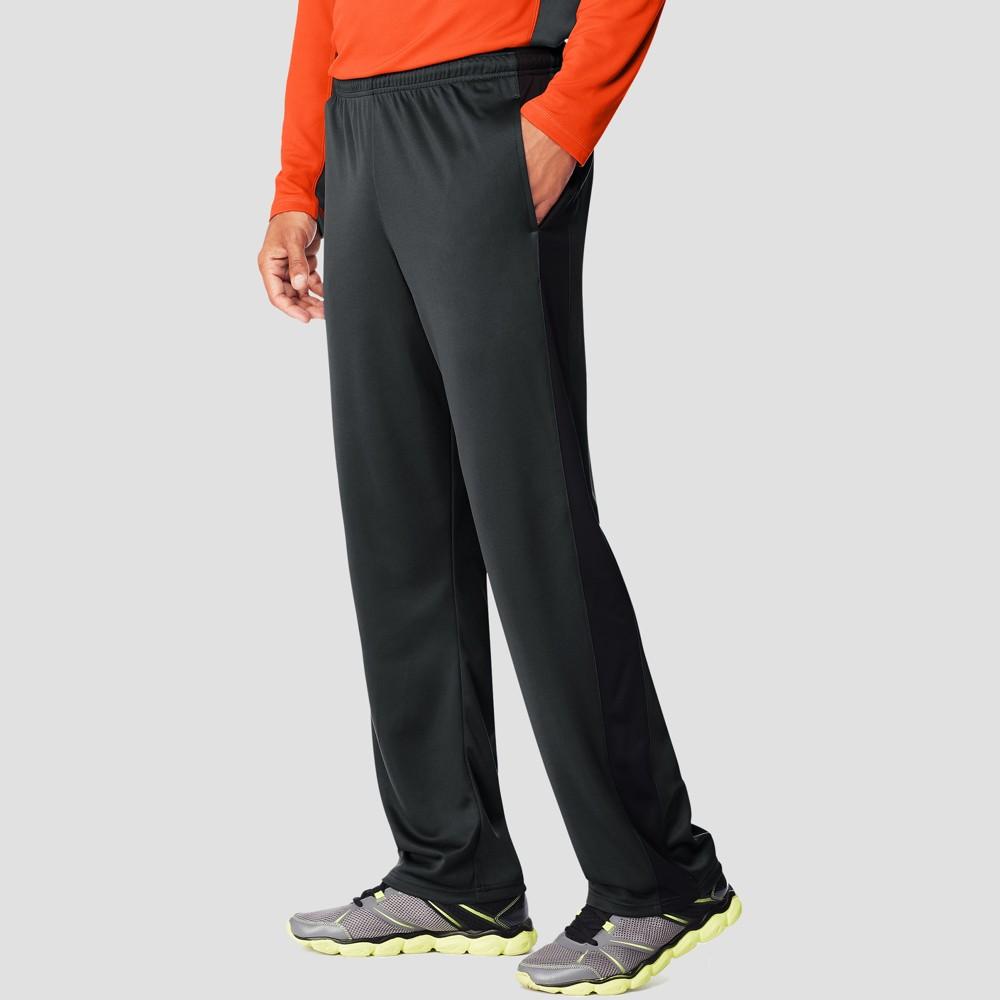 Hanes Men's Sport Training Pants - Slate Black L