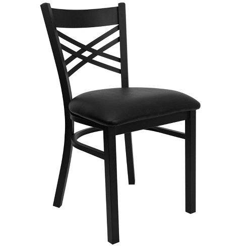 Riverstone Furniture Collection X Chair Seat Black - image 1 of 4