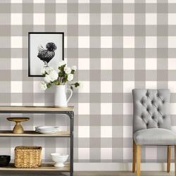 Buffalo Plaid Peel & Stick Wallpaper - Threshold™