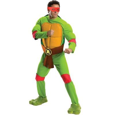 Teenage Mutant Ninja Turtles Teenage Mutant Ninja Turtles Deluxe Raphael Adult Costume