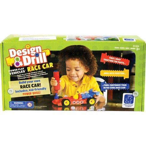 Educational Insights Design & Drill Race Car - image 1 of 4