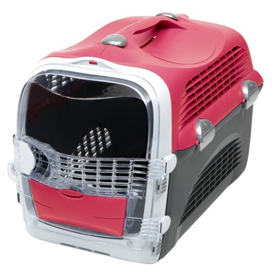 Catit Cabrio Dog and Cat Carrier - Cherry Red