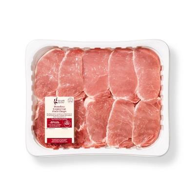 Boneless Center Cut Pork Chops Family Pack - 42oz - Good & Gather™