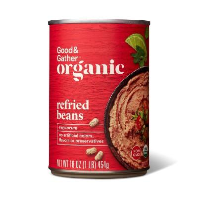 Organic Refried Pinto Beans 16oz - Good & Gather™