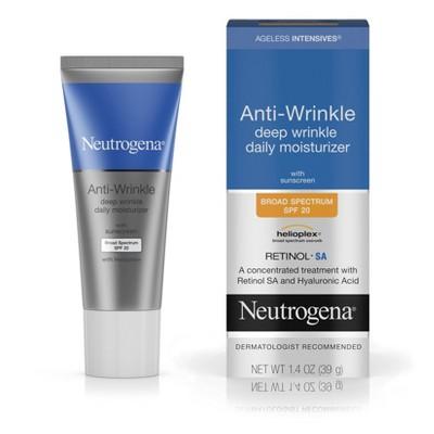 Facial Moisturizer: Neutrogena Anti-Wrinkle Deep Wrinkle Daily Moisturizer