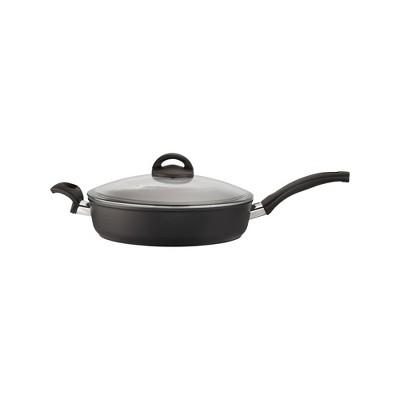 Ballarini Como Forged Aluminum Nonstick Saute Pan with Lid