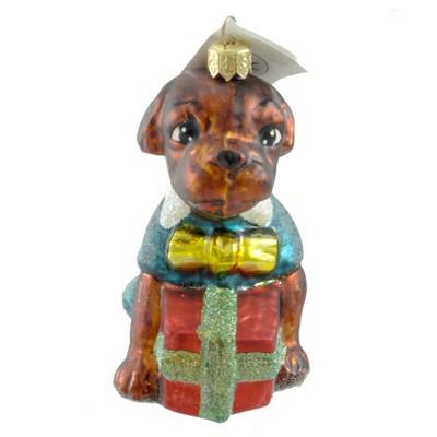 Christopher Radko Manchester Ornament Dog Christmas  -  Tree Ornaments