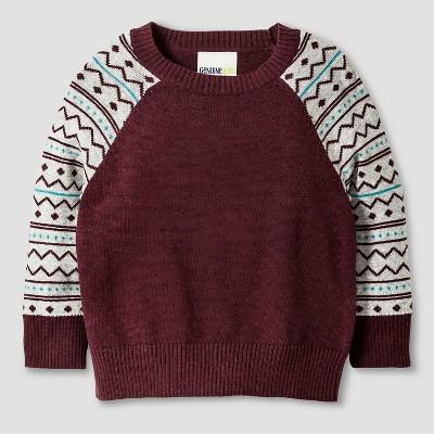 Baby Boys' Pullover - Red 12M - Genuine Kids™ from Oshkosh®