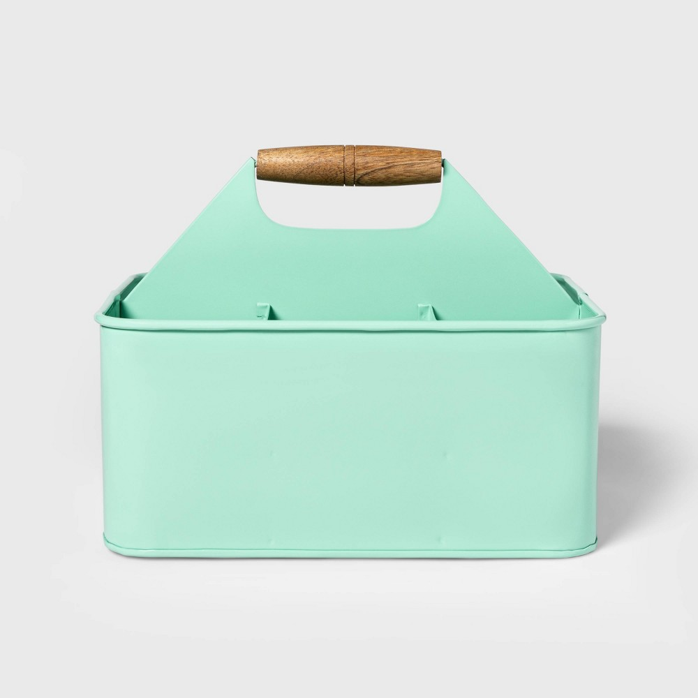 Image of Steel Condiment Caddy Green - Sun Squad