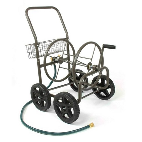 Liberty Garden Products 4 Wheel Residential Hose Reel Cart Holds Up to 250 Feet - image 1 of 4