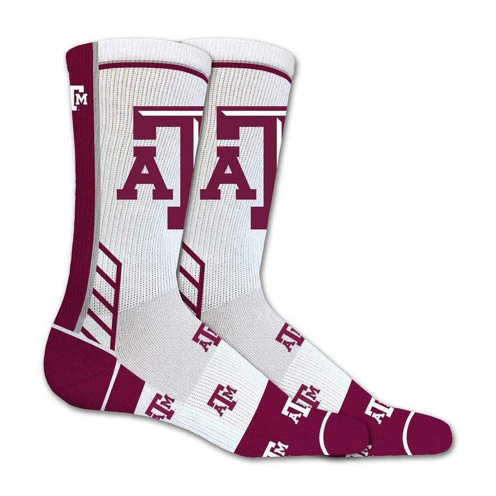 Ncaa Texas A 38 M Aggies Tailgate Crew Socks M