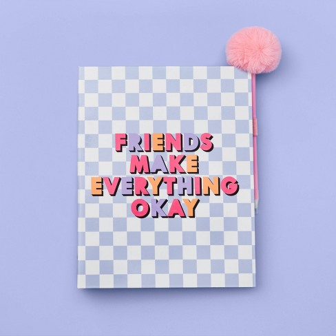 2020-2021 Academic Binder Planner Friends Make Everything Ok - More Than Magic™ - image 1 of 2