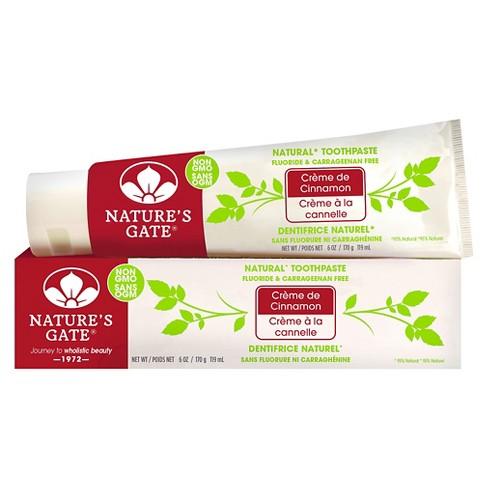 Nature's Gate Crème de Cinnamon Natural Toothpaste 6 oz - image 1 of 1