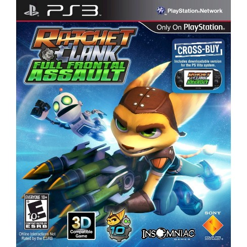 Ratchet & Clank: Full Frontal Assault PlayStation 3 - image 1 of 1