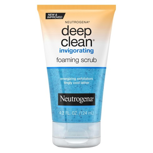 Neutrogena Deep Clean Invigorating Foaming Face Scrub - 4.2 fl oz - image 1 of 3