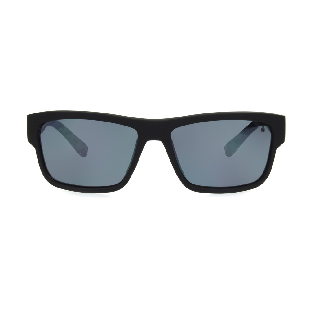 Image of Iron Man Men's Surf Sunglasses - Black, Size: Small, Black/Blue