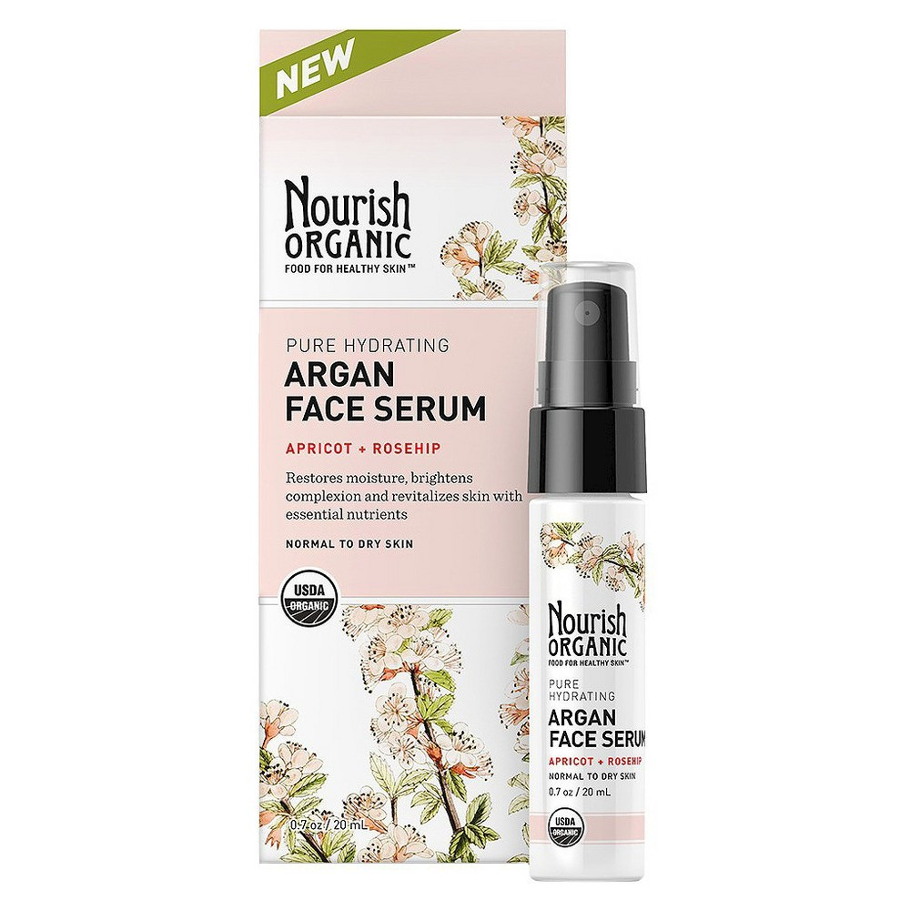 Image of Nourish Organic Argan Face Serum 0.7oz