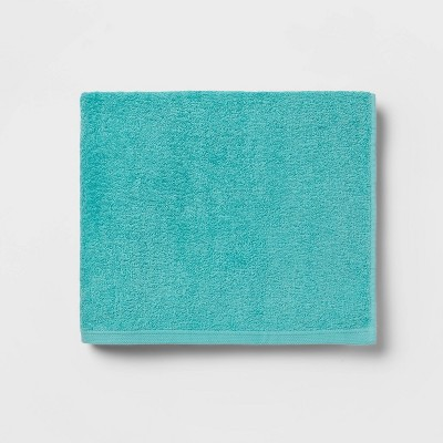 Everyday Solid Bath Towel Turquoise - Room Essentials™