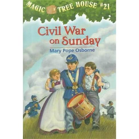 Civil War on Sunday - (Magic Tree House) by  Mary Pope Osborne (Hardcover) - image 1 of 1