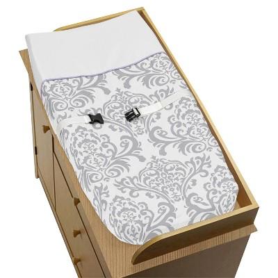 Sweet Jojo Designs Lavender Elizabeth Changing Pad Cover