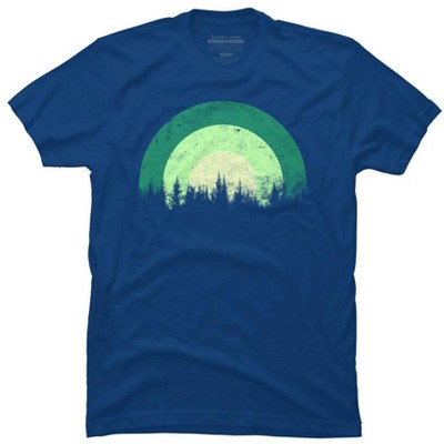 Evergreen Forest Mens Graphic T-Shirt - Design By Humans
