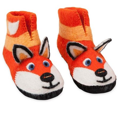 HearthSong - Felted Wool Slide On Kids Slippers