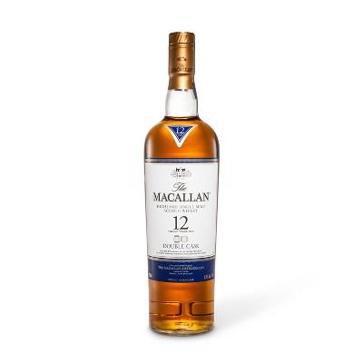 The Macallan 12yr Double Cask Single Malt Scotch Whisky - 750ml Bottle