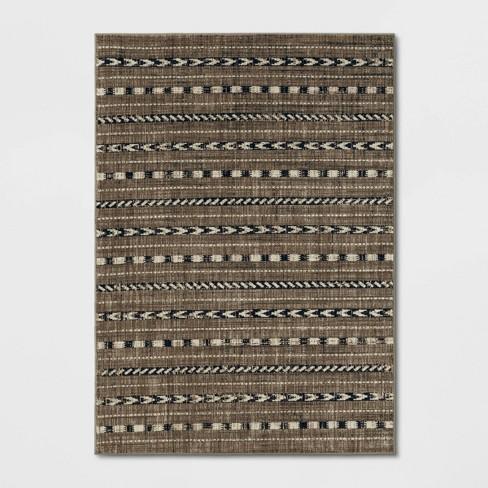 Bethel  Woven Stripe Rug - Threshold™ - image 1 of 4