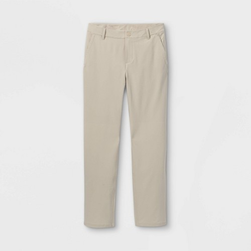 Boys Golf Pants All In Motion Gray 4
