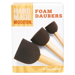 3Ct Foam Daubers Hand Made Modern®