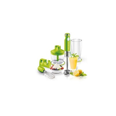 Sencor 6-Speed Stick Blender with Accessories - Green