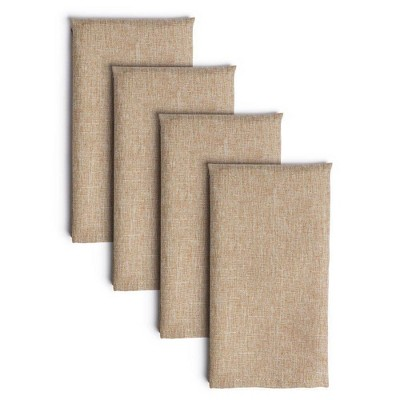 "4pk 20""X20"" Somers Napkins Natural - Town & Country Living"