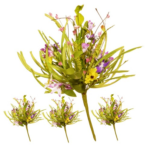 """Artificial Spring Flower Stem Set Green 20"""" - National Tree Company® - image 1 of 1"""