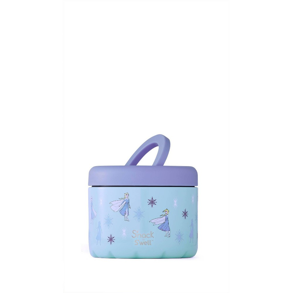 Image of S'nack by S'well x Disney's Frozen 2 Vacuum Insulated Stainless Steel Food Container 24oz - Elsa Queen of Arendelle