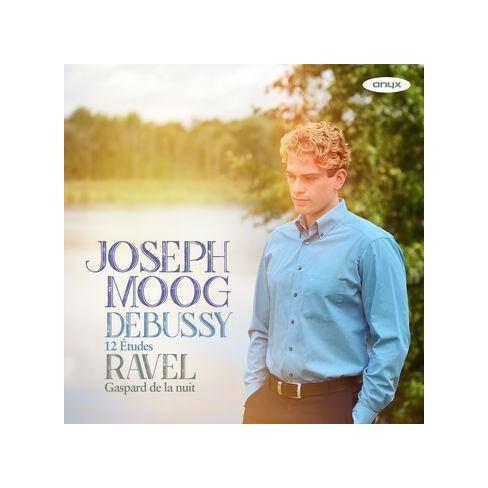 Joseph Moog - Debussy/Ravel: 12 Etudes/Gaspard De La Nuit (CD) - image 1 of 1