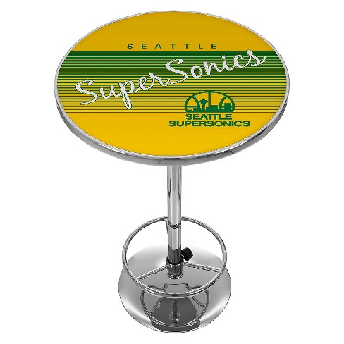 NBA® Seattle Supersonics Chrome Pub Table - image 1 of 1