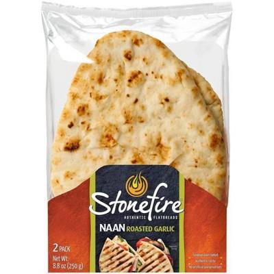 StonefireRoasted Garlic Naan Bread - 8.8oz/2ct