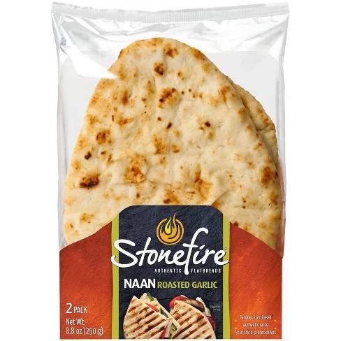 StonefireRoasted Garlic Naan Bread - 8.8oz/2ct - image 1 of 4