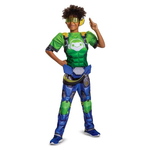 Boys' Overwatch Lucio Muscle Halloween Costume - image 1 of 1