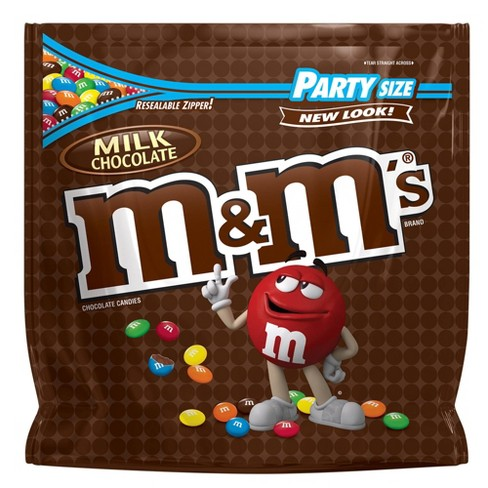 M&M's Party Size Milk Chocolate Candies - 42oz - image 1 of 6