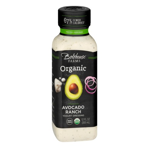 Bolthouse Organic Avocado Ranch Dressing-12oz - image 1 of 5