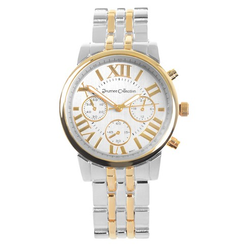 Women's Journee Collection Round Face Metal Link Watch - image 1 of 2