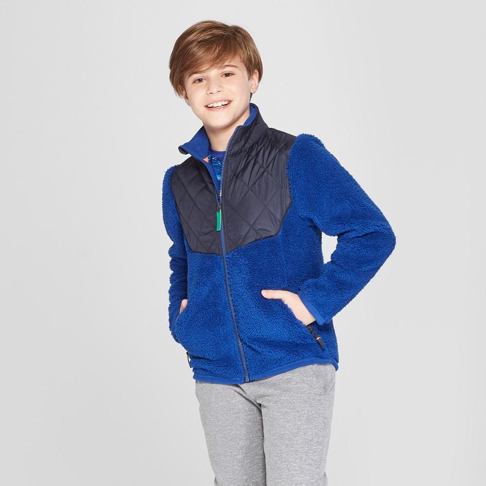 Boys' Modern Fleece Jacket - C9 Champion Navy XS, Blue