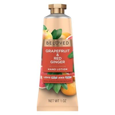 Beloved Grapefruit Oil & Red Ginger Hand Cream Lotion - 1oz