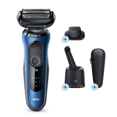 Braun Series 6-6072cc Men's Rechargeable Wet & Dry Electric Foil Shaver System