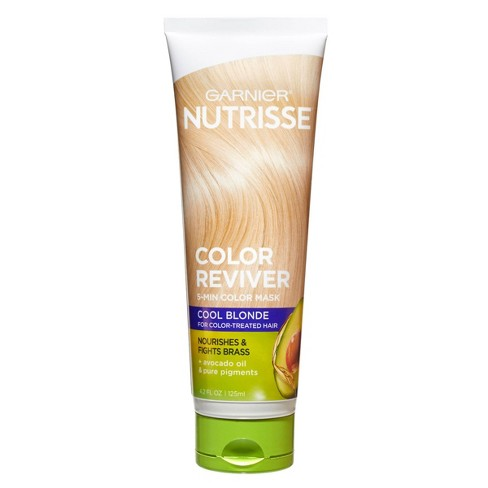 Garnier Nutrisse Color Reviver 5 Minute Nourishing Color Mask - 4.2 fl oz - image 1 of 3