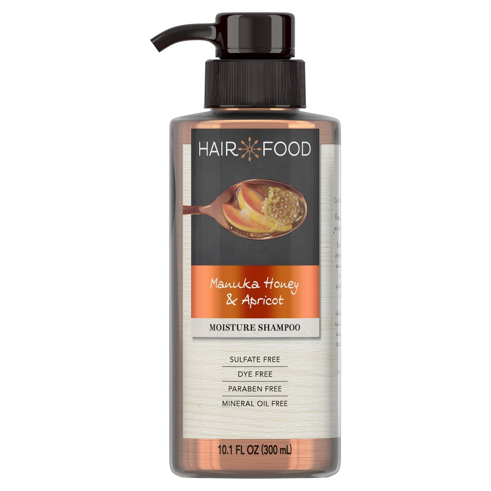 Image of Hair Food Manuka Honey & Apricot Sulfate-Free Dye-Free Moisturizing Shampoo - 10.1 fl oz