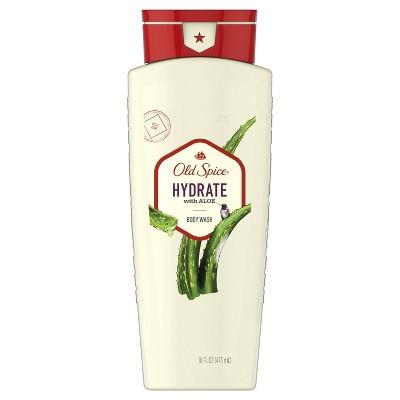Old Spice Men's Body Wash Hydrate with Aloe - 16 fl oz